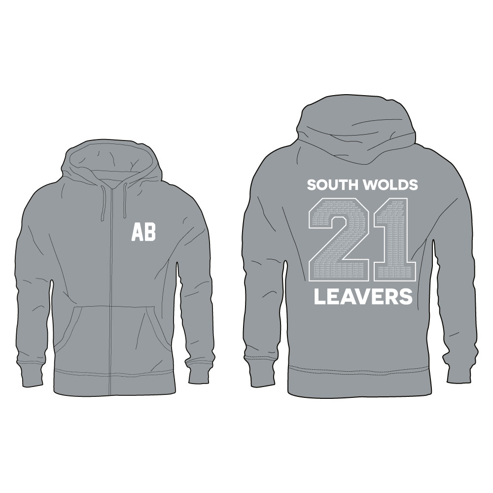 2021 The South Wolds Academy Zip Hoodie 1