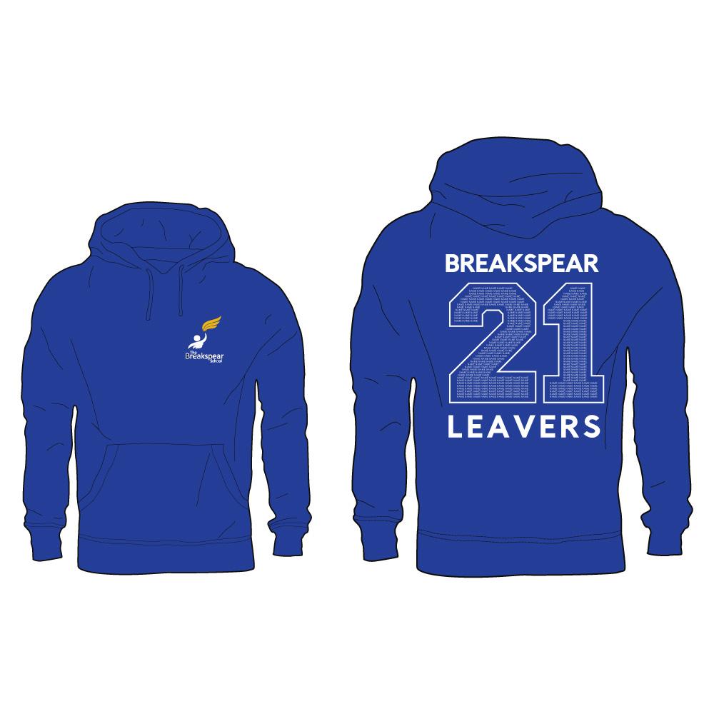 Breakspear 2021 Leavers Hoodie 1