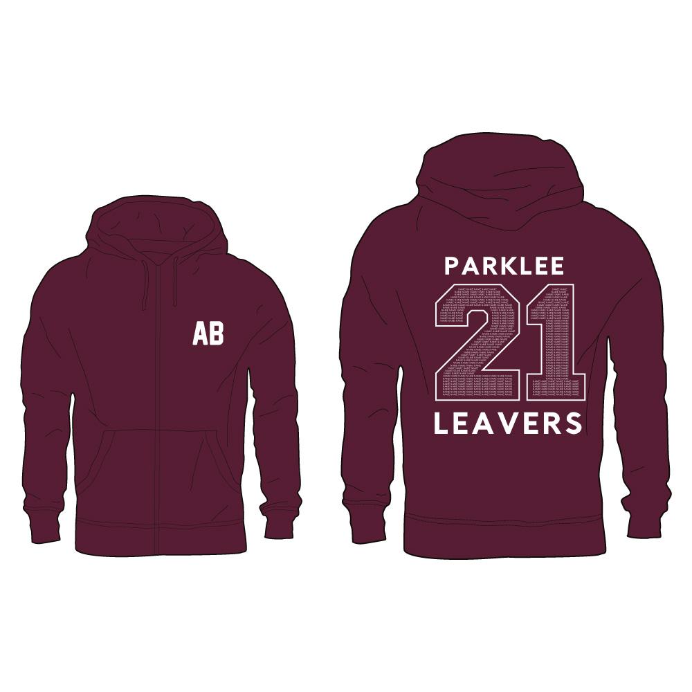 Parklee 2021 Zip Leavers Hoodie 1