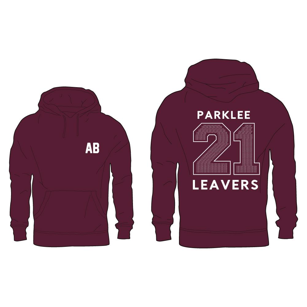 Parklee 2021 Leavers Hoodie 1