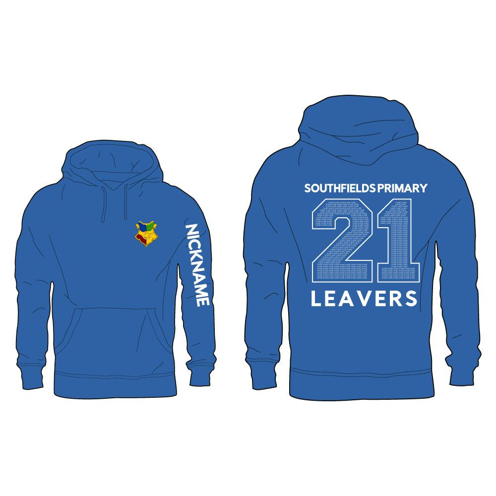 2021 Southfields Primary Leavers Hoodie 1
